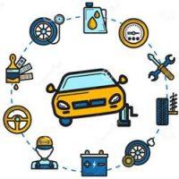 تنظیم مجدد نشانگر سرویس خودرو
