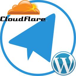 کلود فلر در WP Telegram